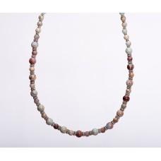 Aqua Terra Jasper Sterling Silver Necklace