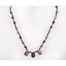 Ocean Jasper Teardrop Necklace