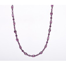 Swarovski Crystal Plum Extravaganza Necklace